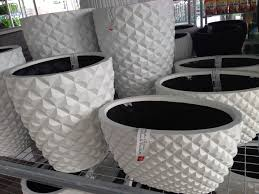 white outdoor planters superstore interiors shopping in