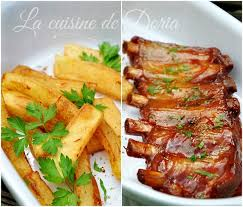 la cuisine de doria ribs in barbecue sauce travers de porc à la sauce barbecue la