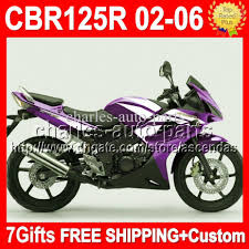 honda cbr 125r 7gifts for honda purple cbr125r cbr125rr 02 06 cbr 125r 125rr