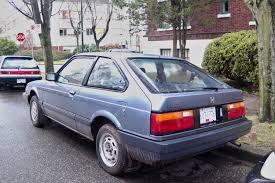 1985 honda accord parked cars vancouver 1985 honda accord hatchback