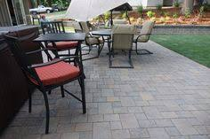 Outdoor Slate Patio Harvest Blend Dominion Slate Patio Project By Dreamscapes