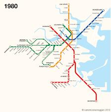 map of boston subway an history of the mbta vanshnookenraggen