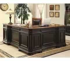 L Shaped Executive Desk Darby Home Co Stina L Shaped Executive Desk Reviews Wayfair