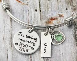 in loving memory charms in memory of etsy