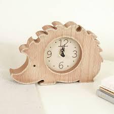 personalised childrens clocks wooden