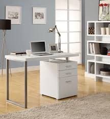 modern glass desk with drawers glass computer desks frosted glass desks home office desks 25