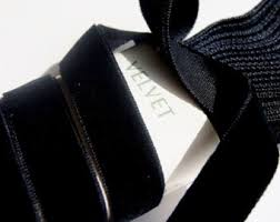 velvet ribbon wholesale black velvet ribbon etsy