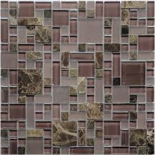royal tapestry gps07 purple kitchen backsplash glass mosaic