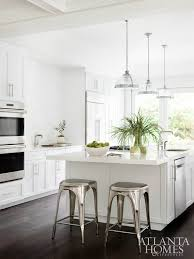 White Cabinets Kitchens Beautiful Classic Kitchen With Dark Wood Floors White Cabinets