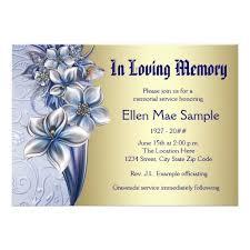 funeral service invitation memorial service invitation cards maitlive