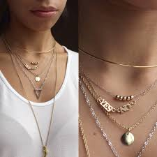 choker necklace layered images How to layer necklaces jpg