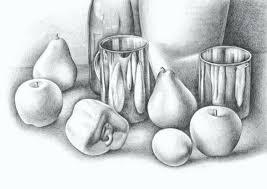 still life techniques pencil drawing