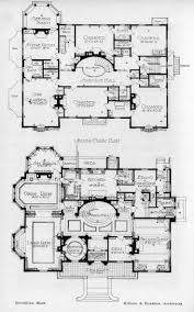 Mansion Floor Plans Free by 28 Victorian Floor Plans Farmhouse House Historic Mab Hahnow