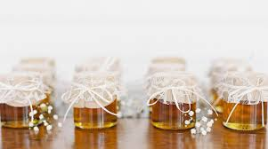 honey jar wedding favors unique wedding favor ideas allan house