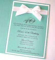 embellished paperie custom tiffany style 40th birthday invitation