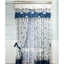Nautical Valance Curtains Curtain Blue Curtains Best Quality Shabby Chic Room Boys