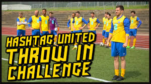 In Challenge Hashtag United Throw In Challenge