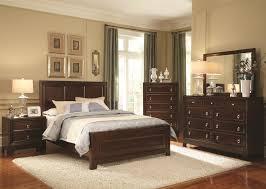 bedroom sets dark wood interior design