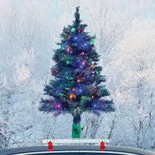 the car mounted lighted tree hammacher schlemmer