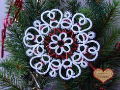 christmas decorations picture101 christmas tatting pinterest