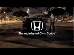 on honda civic commercial honda civic coupe today is pretty great commercial 2014