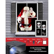 halloween fabric on sale mr christmas digital decoration window projector kit for halloween