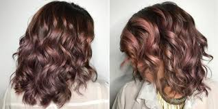 Mauve Color by This New Amazing Hair Dye Changes Color With Heat Pravana Heat