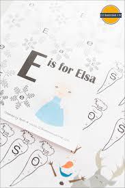 free disney frozen worksheets for kids