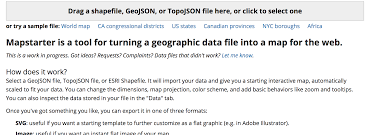 Esri Shapefile World Map by Dataviz Toolsmapstarter Com Dataviz Tools