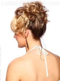 upsweep for medium length hair christie brinkley in 65th annual tony awards arrivals christie