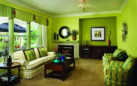 comfortable furniture for family room light green color schemes ideas for amazing family room with dark