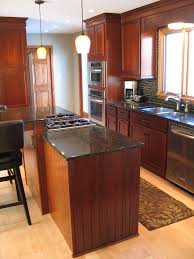 Cherry Kitchen Island by Creating An Open Kitchen In Carmel Wrightworks Llc