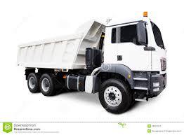 dump truck white dump truck stock photography image 26953352