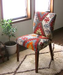 Kilim Armchair Hizhali Rug Store Dining Chair Covered With Kilim