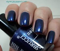 did someone say nail polish brucci blue sapphire with nfu oh
