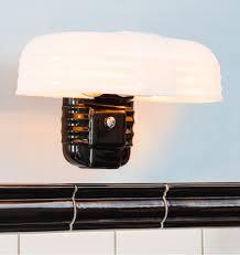rufus art deco bathroom lights and bath