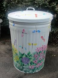 decorative trash cans for the home decorative garbage cans