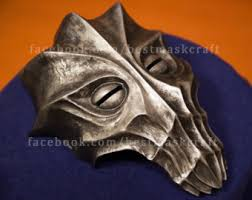 Skyrim Halloween Costume Dragon Priest Mask Etsy