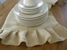burlap table linens wholesale dining room fetching accessories for table decoration using light