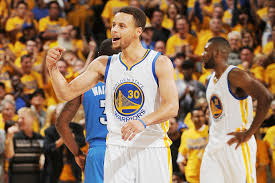 stephen curry warriors survive thunder to reach finals si com