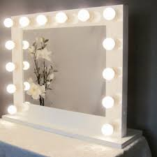 mirror with light bulbs modern contemporary hollywood vanity mirror with light bulbs style