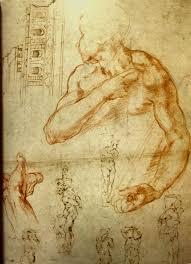 drawing at duke michelangelo buonarroti
