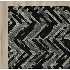 Black Chevron Area Rug Modern Black Chevron Area Rugs Allmodern
