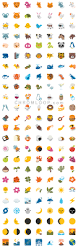 update old emoji android n preview 2 look