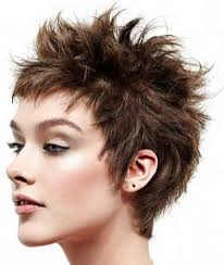 pic of back of spikey hair cuts short spiky hairstyles back view archives my salon