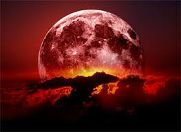 what is the meaning of the blood moon and sun on the
