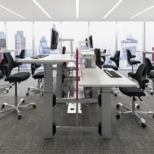 Sit Stand Office Desk by Deskrite Evolve Sit Stand Desk 1600mm From Posturite