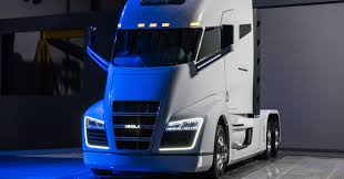 electric truck nikola motor unveils 1 000 hp hydrogen electric truck with 1 200