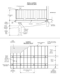 deck joist dimensions deck design and ideas