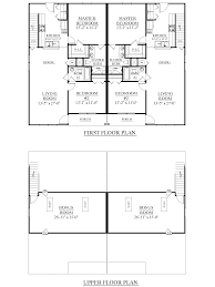 2 Floor House Plans Houseplans Biz House Plan D1526 A Duplex 1526 A